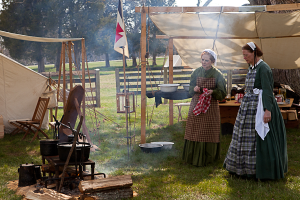 Civil War Reenactment at Appomattox National History Park