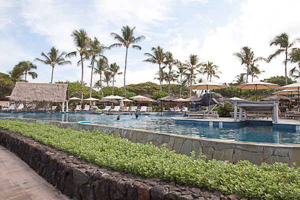 Family pool at the Four Seasons Hualalai