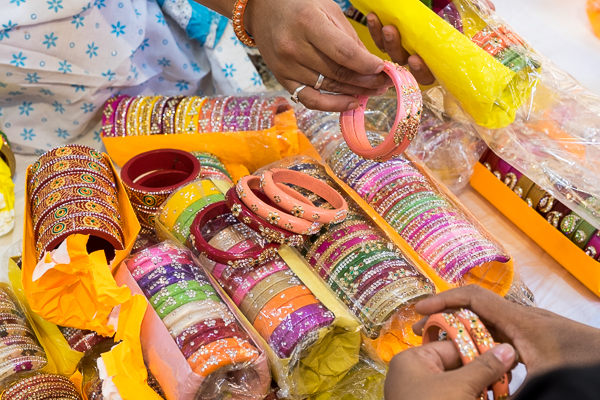 Bangles for sale in Jaipur, India