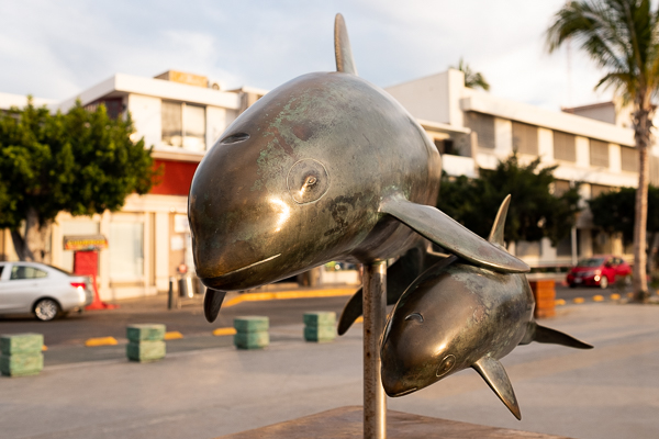 Sculpture along the Malecon