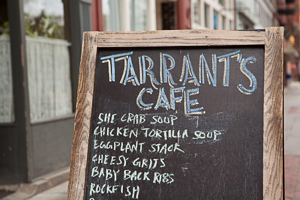 Terrant's Cafe in Richmond, Virginia